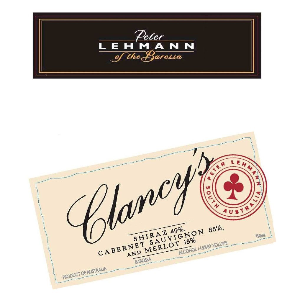 Peter Lehmann Clancy's 2007 Front Label