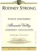 Rodney Strong Alexander Valley Estate Cabernet Sauvignon 2007 Front Label
