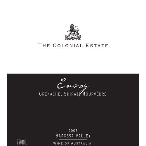The Colonial Estate Envoy GSM 2006 Front Label