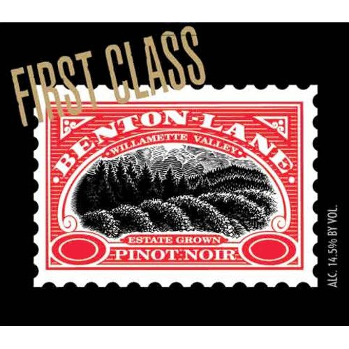 Benton Lane First Class Pinot Noir 2008 Front Label