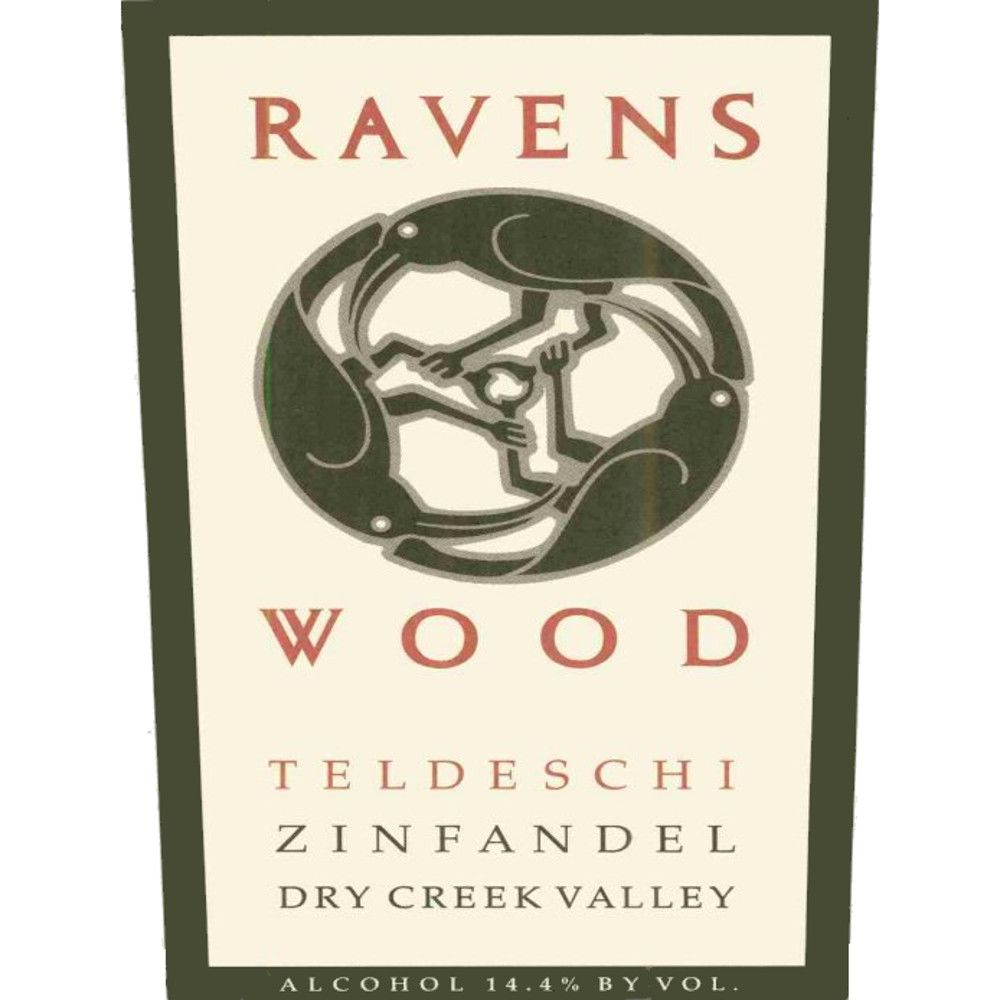 Ravenswood Teldeschi Vineyard Zinfandel 2007 Front Label