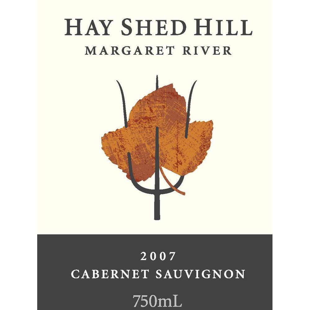 Hay Shed Hill Cabernet Sauvignon 2007 Front Label