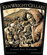 Ken Wright Cellars Canary Hill Vineyard Pinot Noir 2008 Front Label