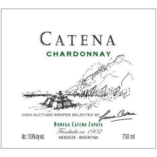 Catena Chardonnay 2008 Front Label