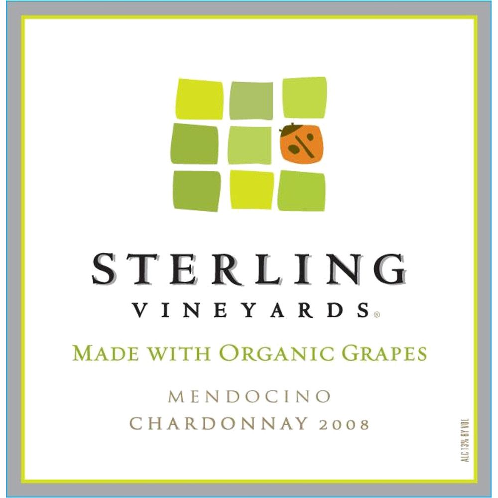 Sterling Organic Chardonnay 2008 Front Label