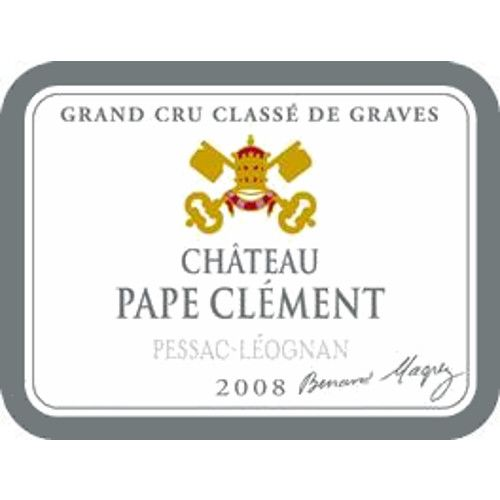 Chateau Pape Clement  2008 Front Label