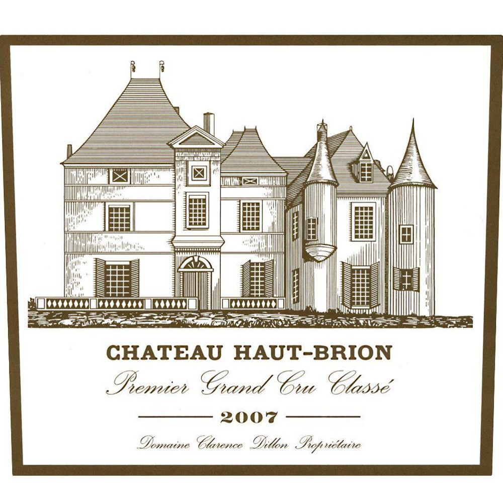 Chateau Haut-Brion  2007 Front Label