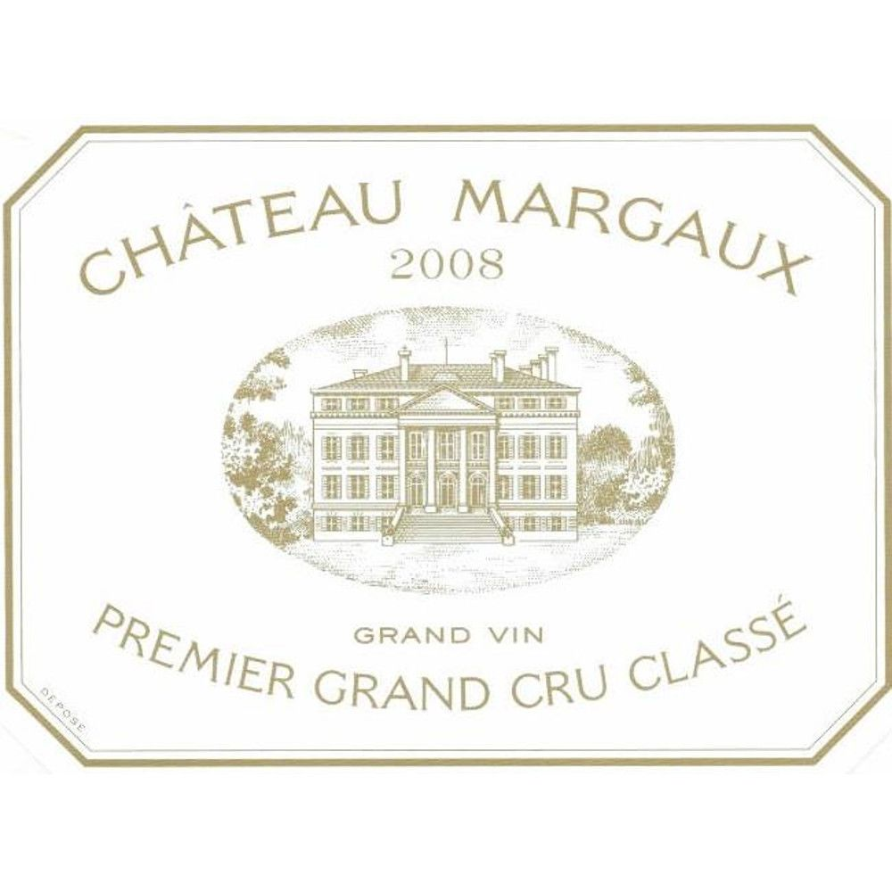 Chateau Margaux  2008 Front Label