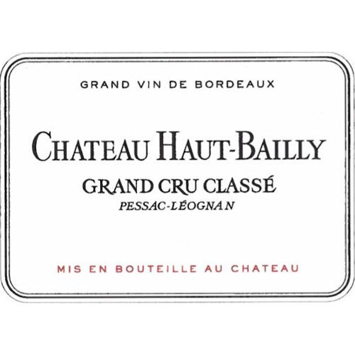 Chateau Haut-Bailly  2008 Front Label