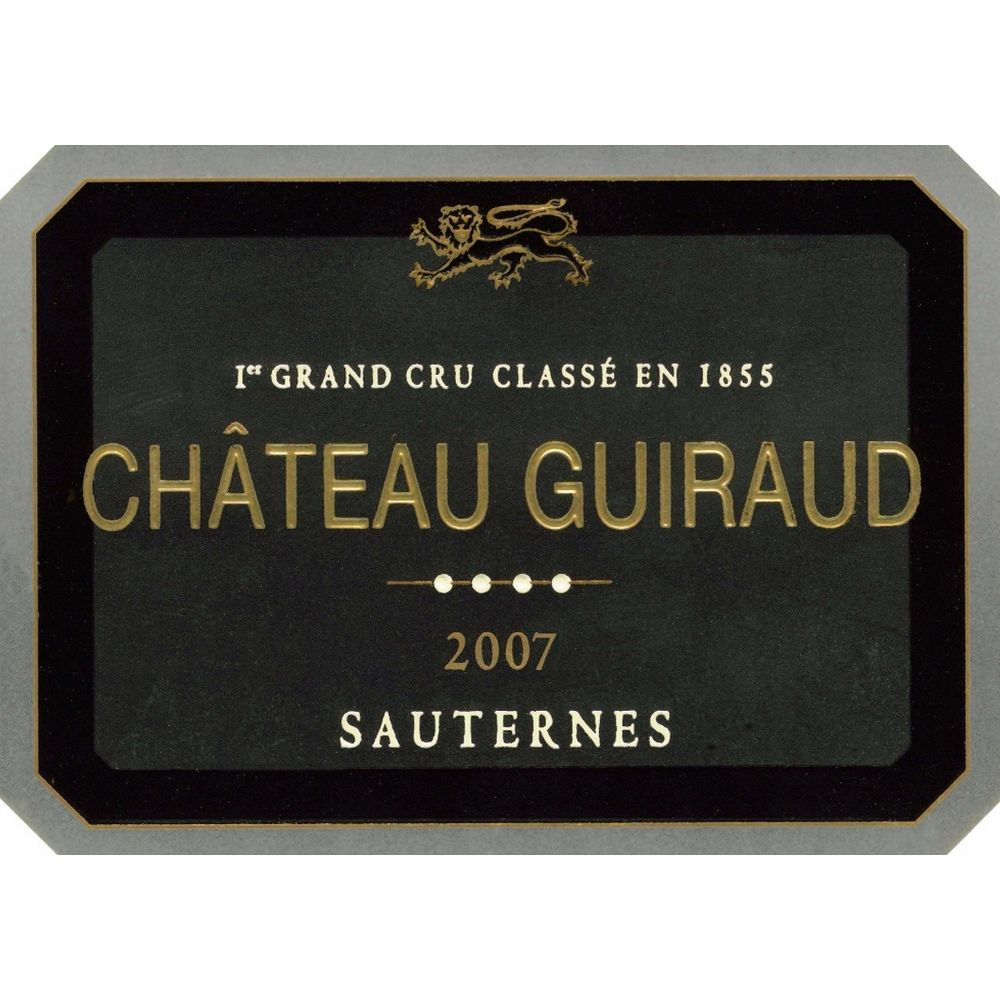 Chateau Guiraud Sauternes (375ML half-bottle) 2007 Front Label