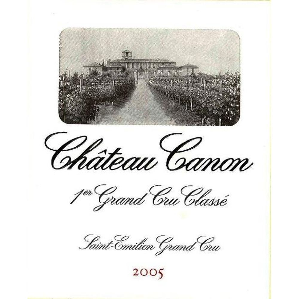 Chateau Canon  2005 Front Label