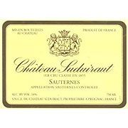 Chateau Suduiraut Sauternes (375ML half-bottle) 2008 Front Label