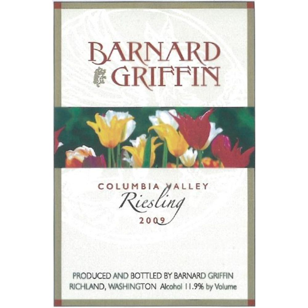 Barnard Griffin Riesling 2009 Front Label