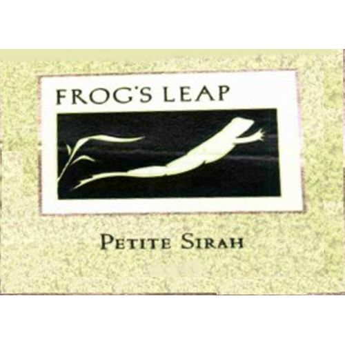 Frog's Leap Petite Sirah 2007 Front Label