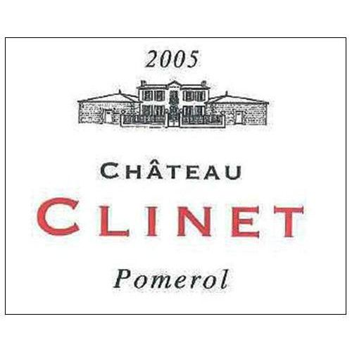 Chateau Clinet  2005 Front Label