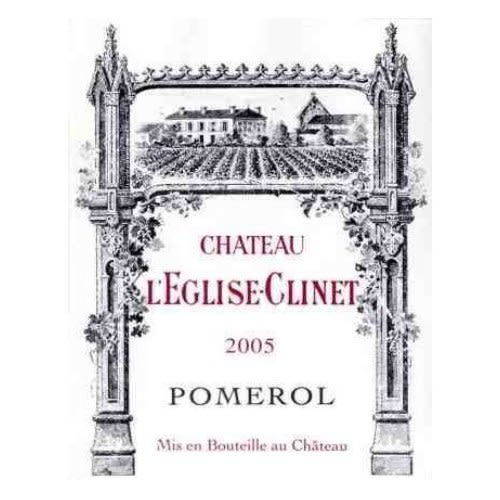 Chateau L'Eglise Clinet  2005 Front Label