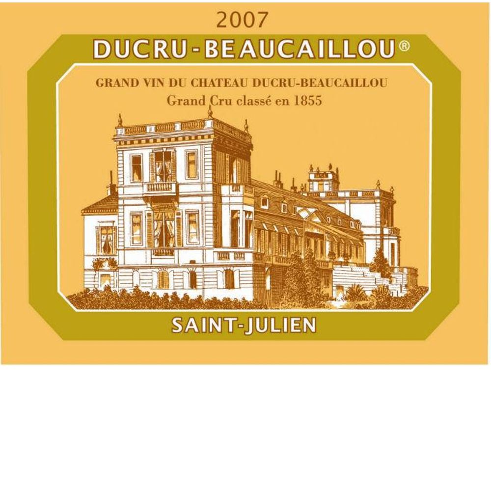 Chateau Ducru-Beaucaillou  2007 Front Label