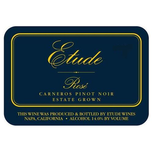 Etude Rose of Pinot Noir 2009 Front Label