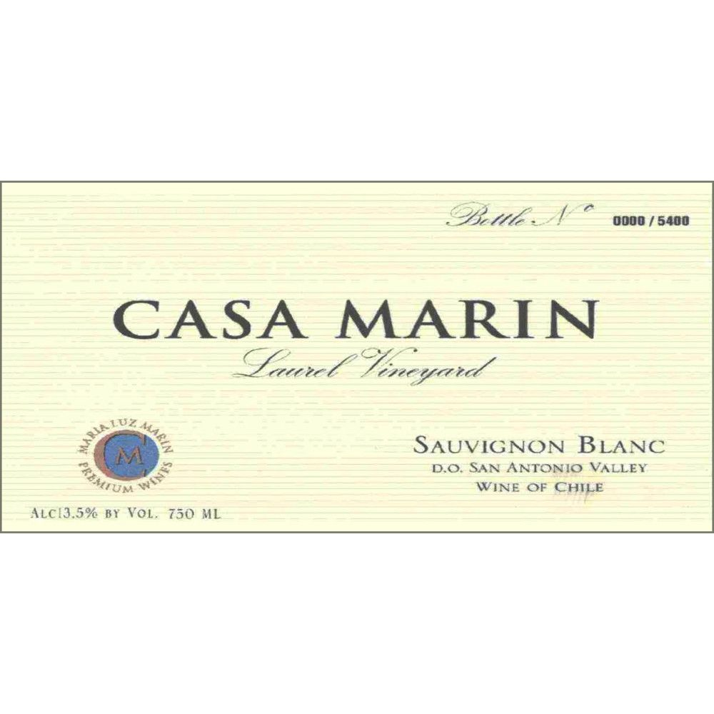 Casa Marin Laurel Vineyard Sauvignon Blanc 2008 Front Label