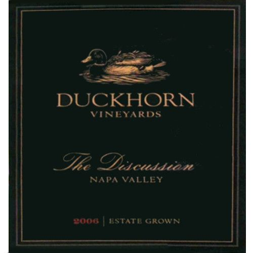 Duckhorn The Discussion 2006 Front Label