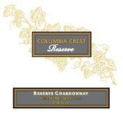 Columbia Crest Reserve Chardonnay 2006 Front Label