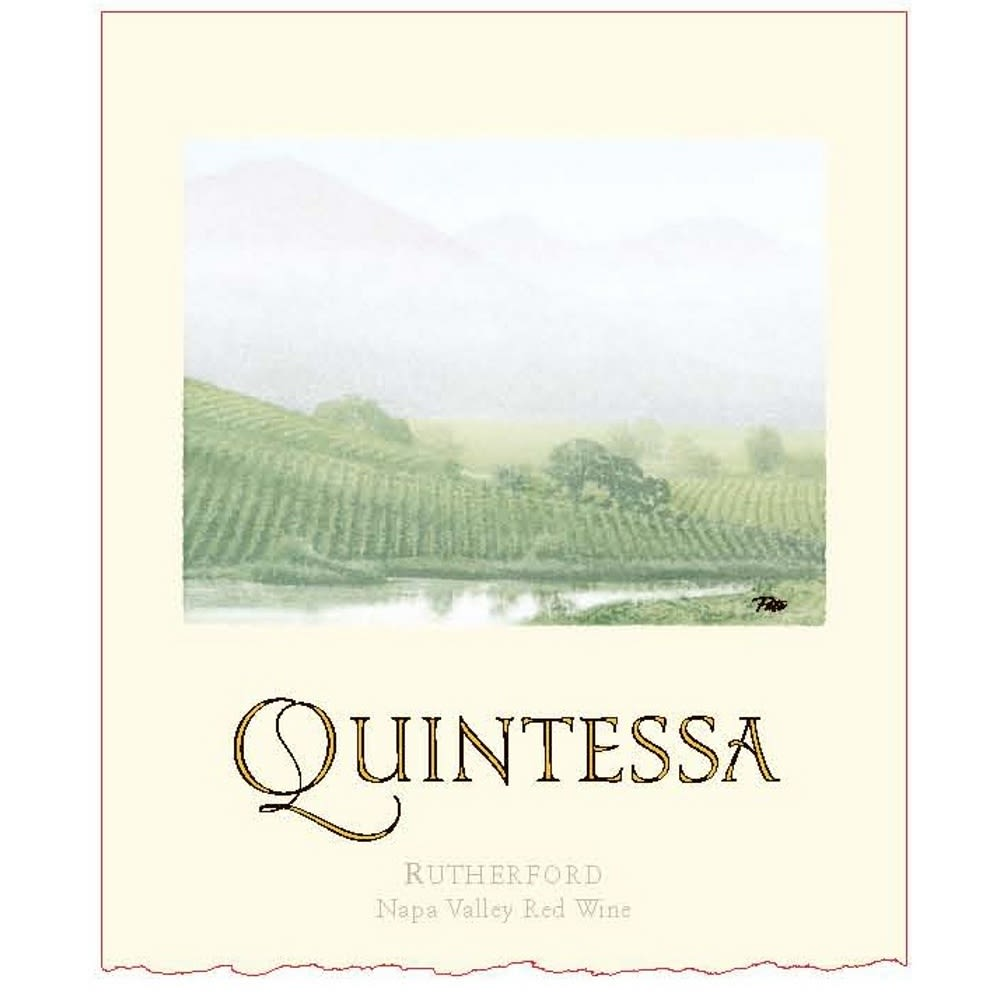 Quintessa  2007 Front Label