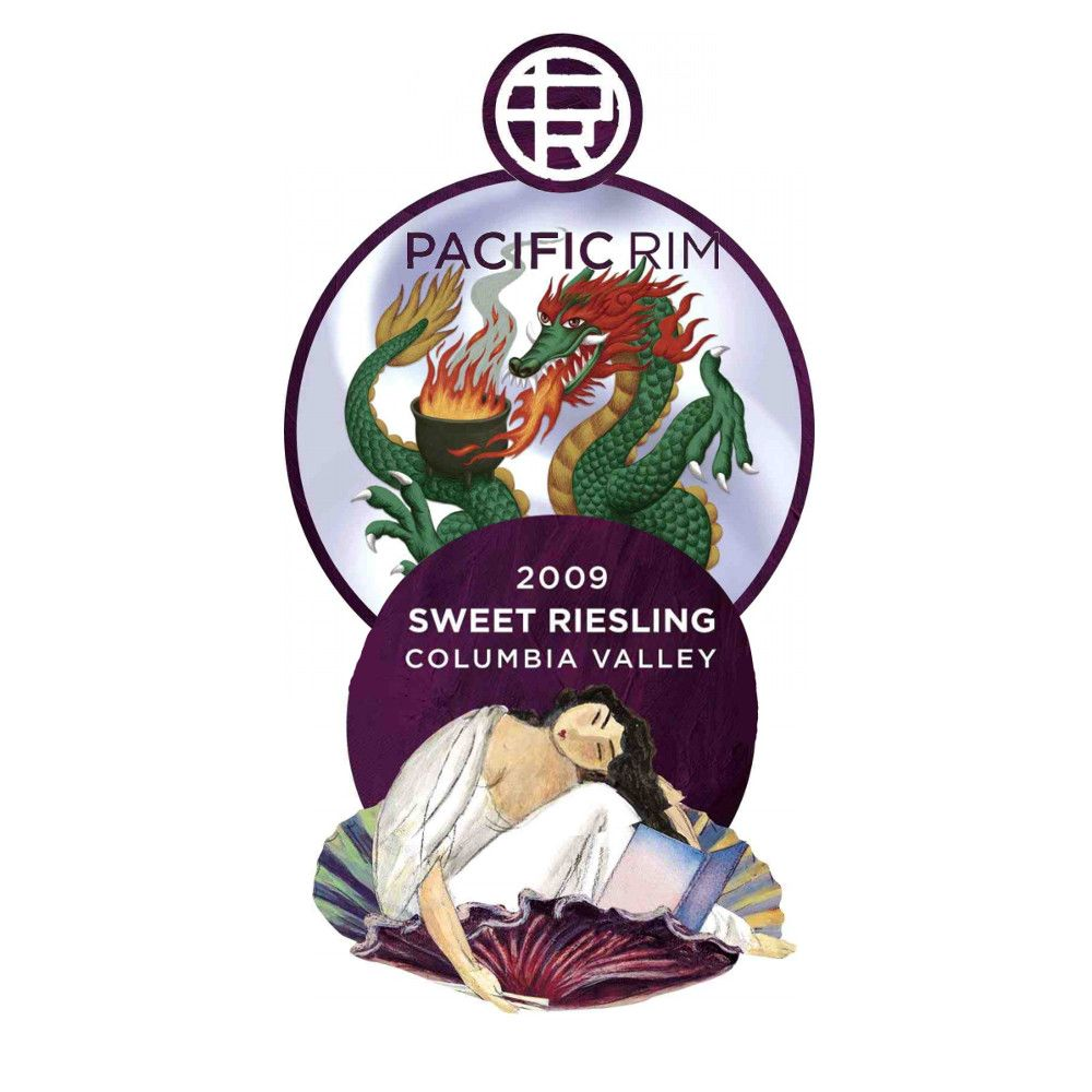 Pacific Rim Sweet Riesling 2009 Front Label