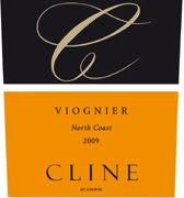 Cline North Coast Viognier 2009 Front Label