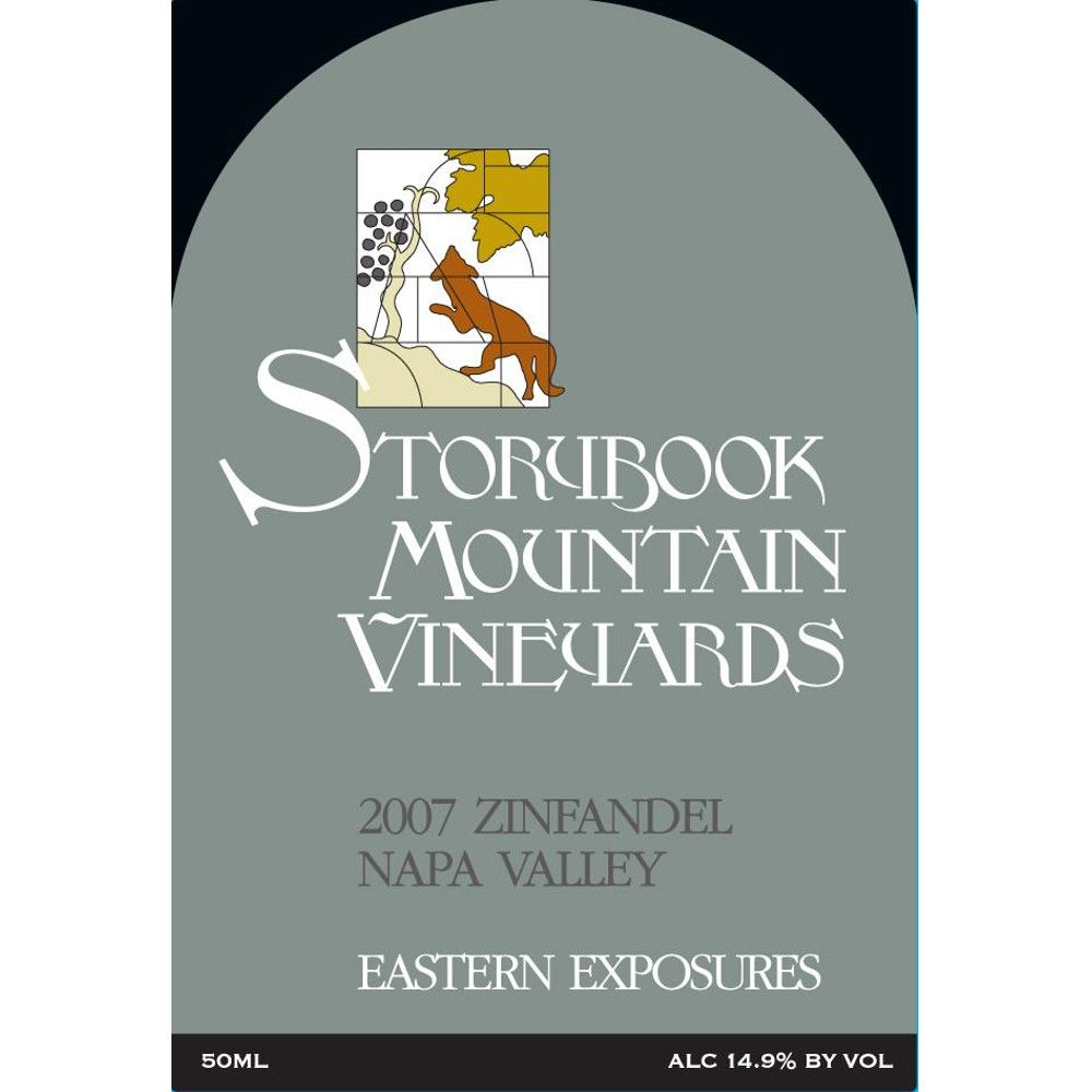 Storybook Mountain Eastern Exposures Zinfandel 2007 Front Label