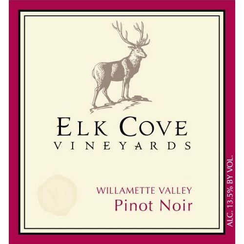 Elk Cove Willamette Valley Pinot Noir (375ML half-bottle) 2007 Front Label