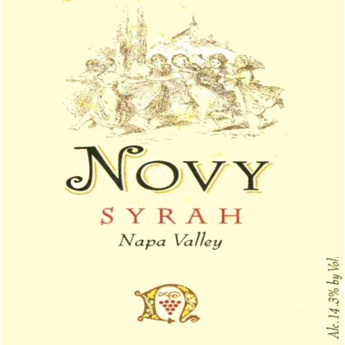 Novy Napa Valley Syrah 2007 Front Label