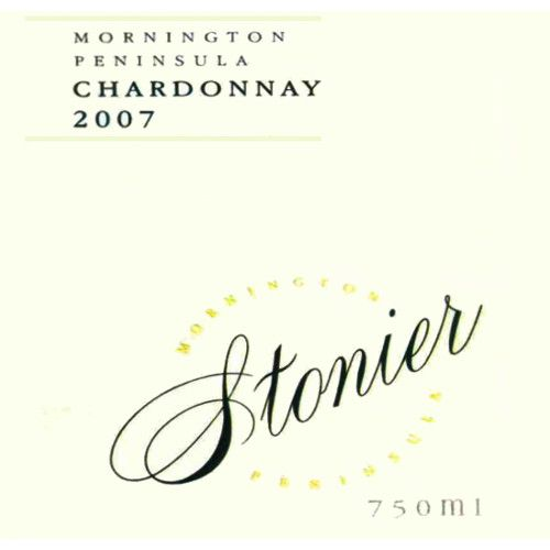 Stonier Mornington Peninsula Chardonnay 2007 Front Label