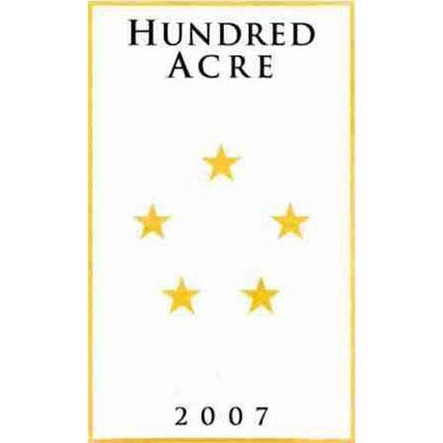Hundred Acre Ancient Way Vineyard 2007 Front Label