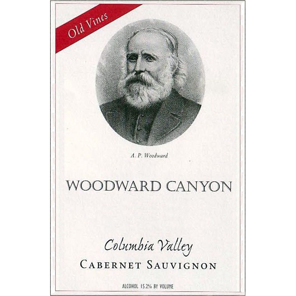 Woodward Canyon Old Vines Cabernet Sauvignon 2007 Front Label