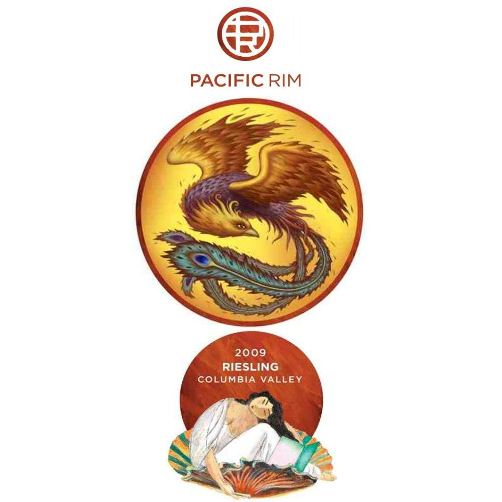 Pacific Rim Riesling 2009 Front Label