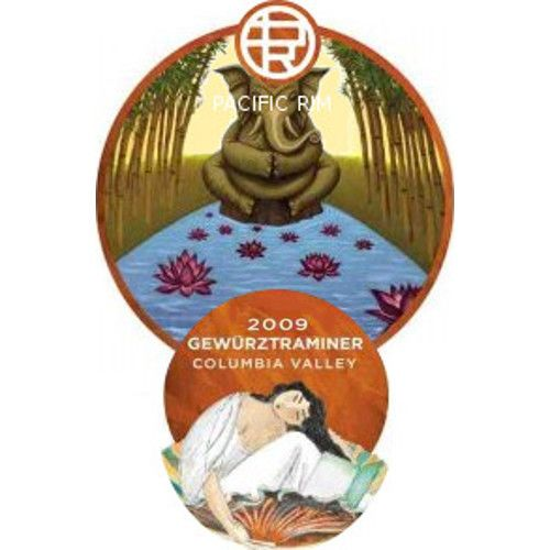 Pacific Rim Gewurztraminer 2009 Front Label
