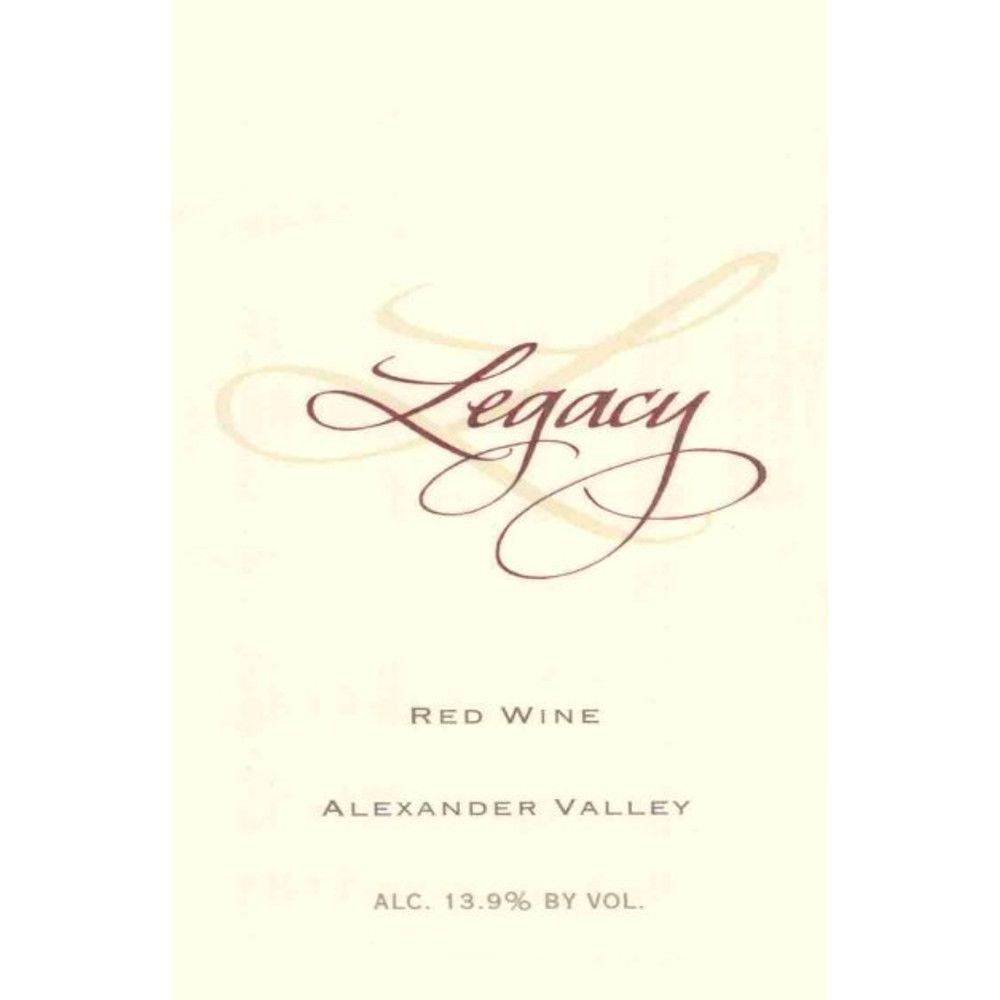 Stonestreet Legacy Meritage Red 2006 Front Label