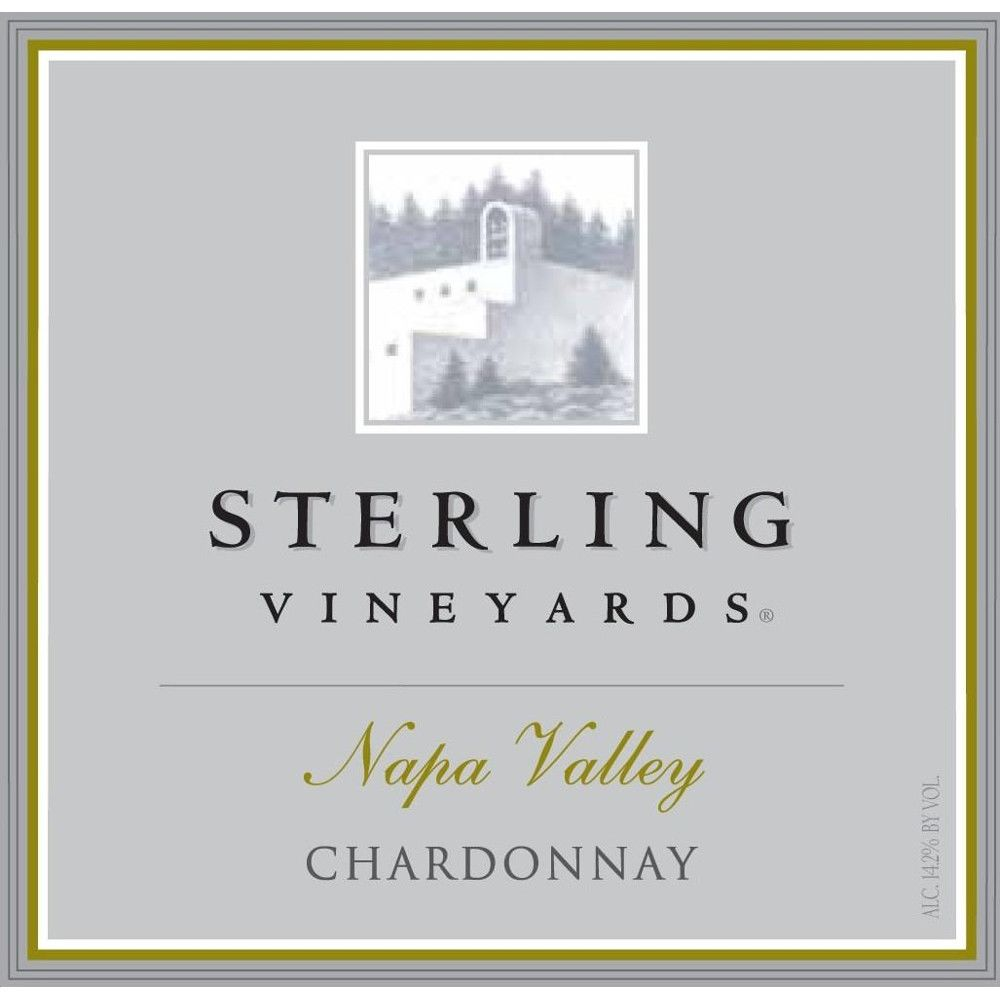 Sterling Napa Chardonnay 2008 Front Label