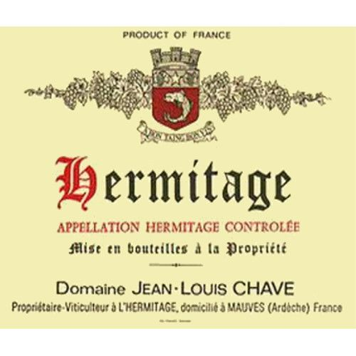 Jean-Louis Chave Hermitage (3 Liter Bottle) 2006 Front Label