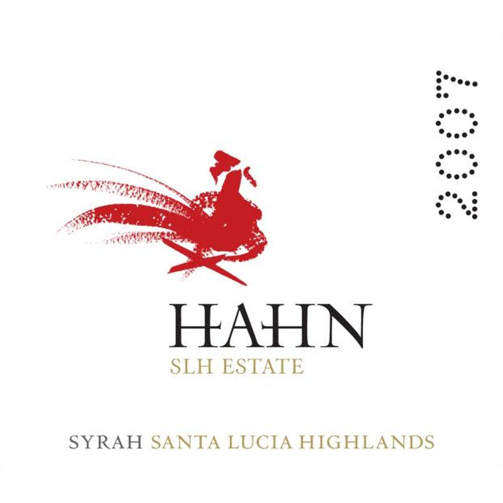 Hahn Winery Santa Lucia Highlands Estate Syrah 2007 Front Label