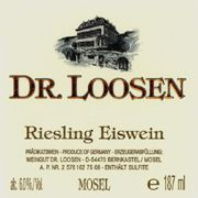 Dr. Loosen Eiswein Riesling (187ML) 2007 Front Label
