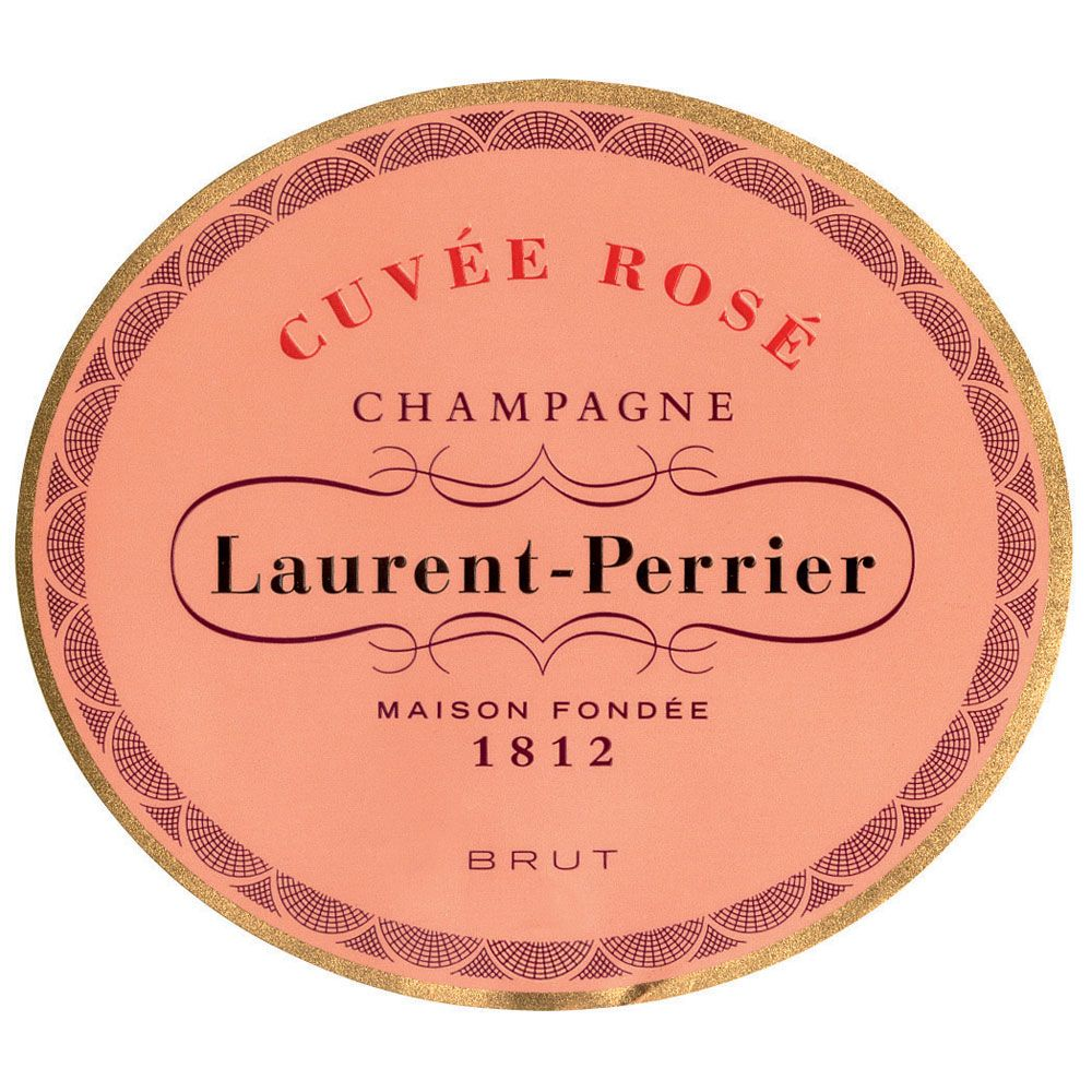 Laurent-Perrier Cuvee Rose Front Label