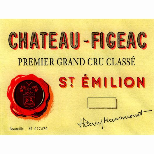 Chateau Figeac  2005 Front Label