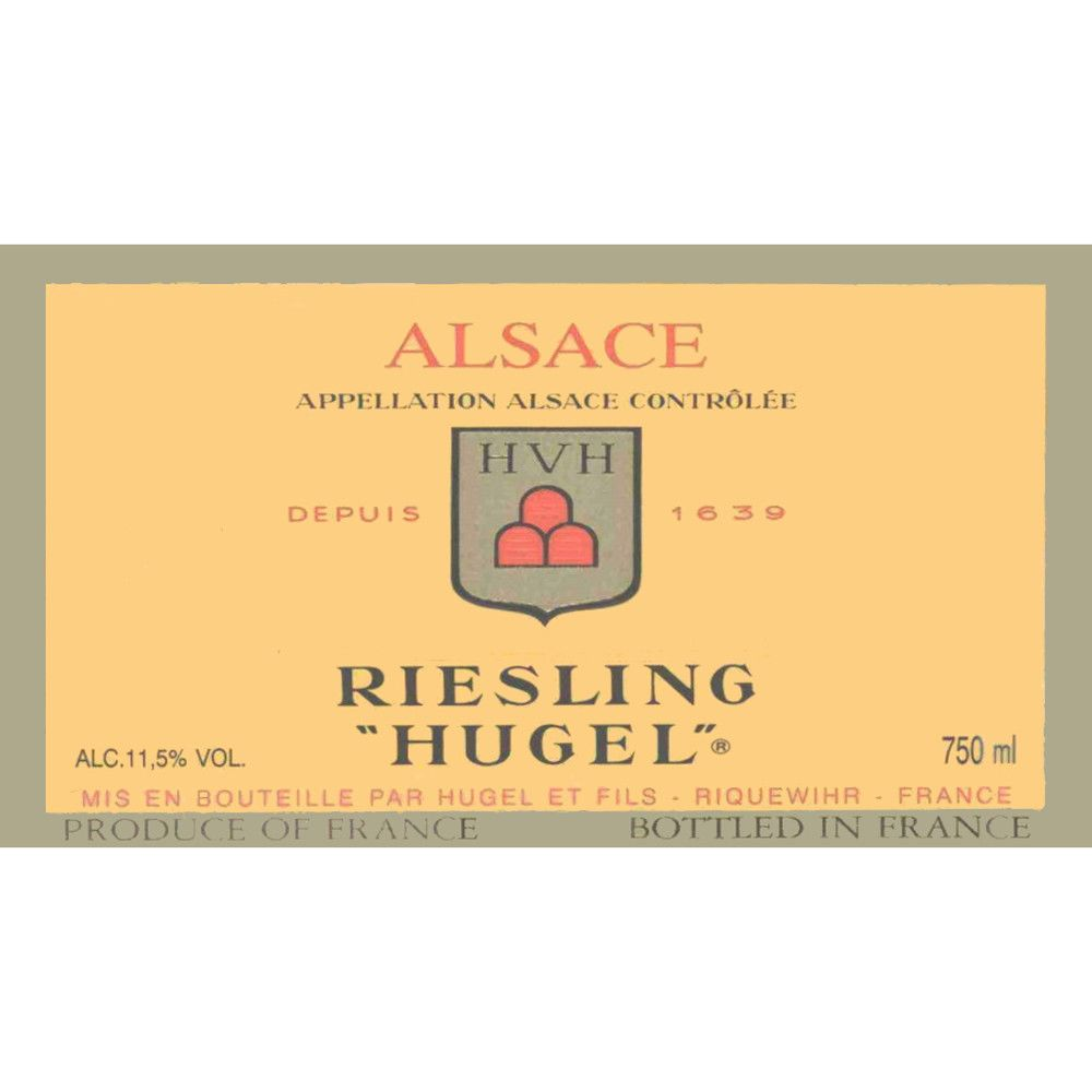 Hugel Classic Riesling 2008 Front Label