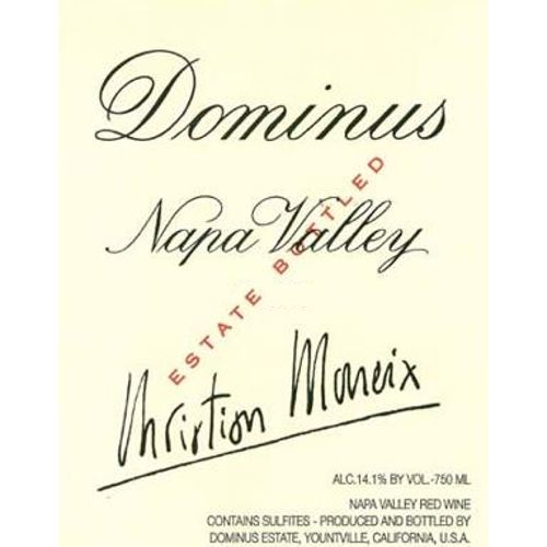 Dominus Estate (3 Liter Bottle) 2007 Front Label