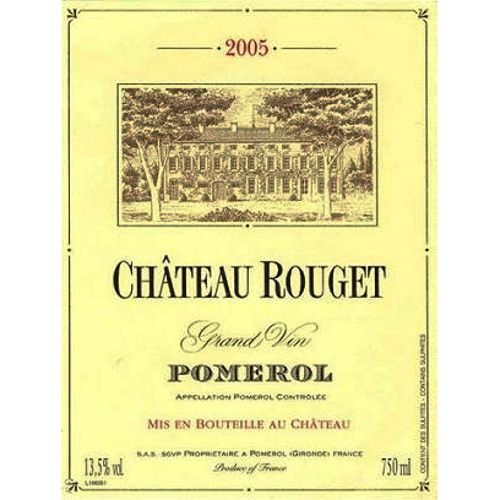 Chateau Rouget  2005 Front Label