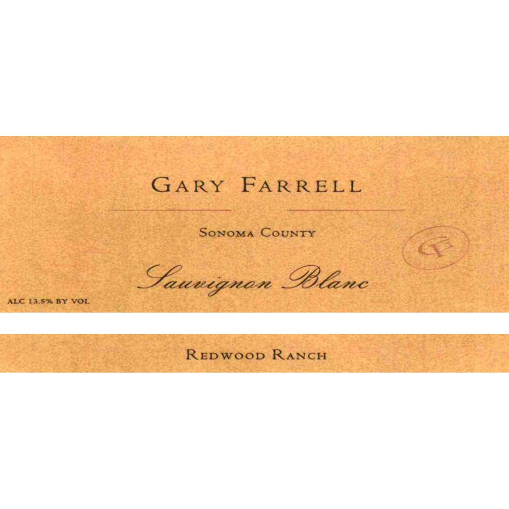 Gary Farrell Redwood Ranch Sauvignon Blanc 2009 Front Label