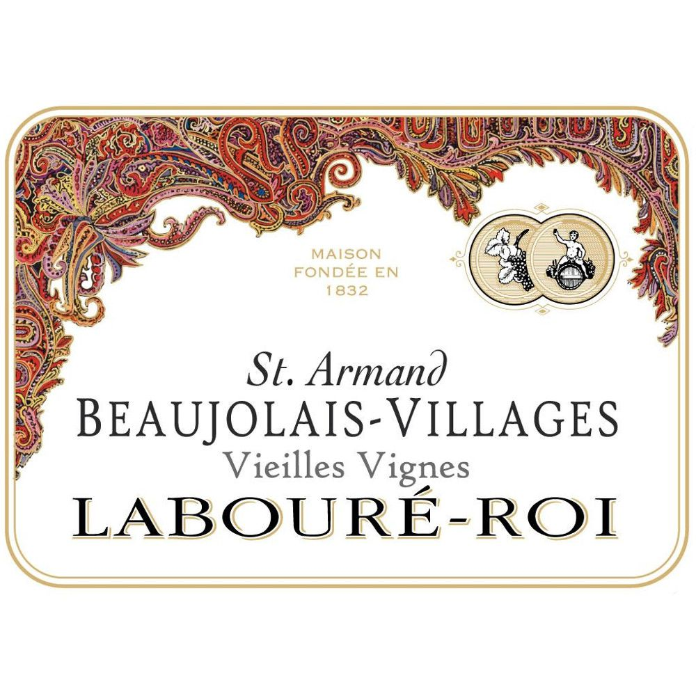 Laboure Roi Beaujolais Villages St. Armand 2008 Front Label