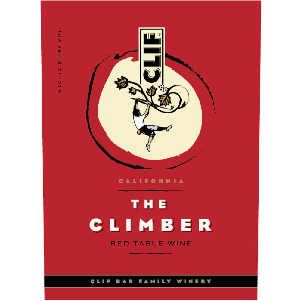 Clif Family Winery The Climber Red Blend 2006 Front Label