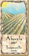 Abacela Tempranillo Cuvee 2007 Front Label